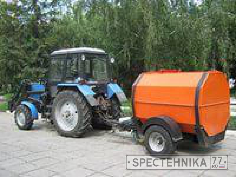 Аренда трактора МТЗ 82 в Москве | Цена за смену - 7 200 рублей